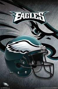 PHILADELPHIA-EAGLES-HELMET-LOGO-POSTER-22x34-NFL-FOOTBALL-13992