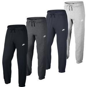 Details about New Men\u0027s Nike Joggers Tracksuit Jogging Bottoms Track Sweat  Pants , Black Gray