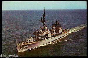 USS-Fechteler-DD-870-postcard-US-Navy-war-ship-destroyer
