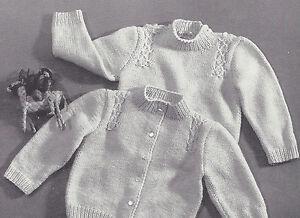 knitting patterns baby sweater white