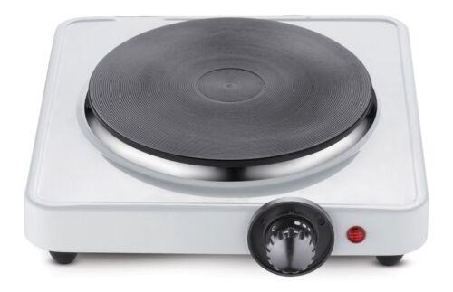 Plaque de cuisson cuisson 1.500 watt unique plaque de cuisson réchaud camping plaque de cuisson 18cm