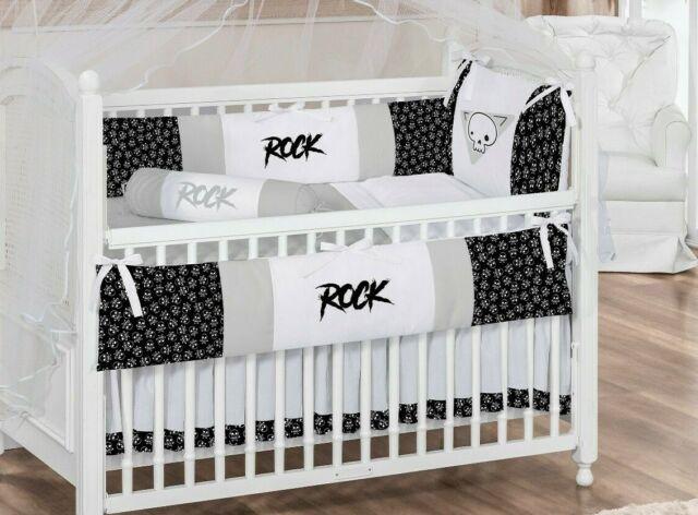 Skull And Crossbones Baby Bedding Set