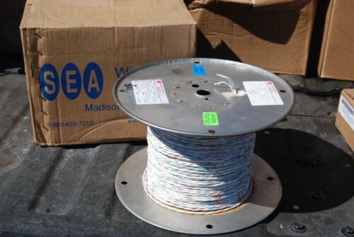MIL-SPEC  M27500-20SP3U00 TRIPLE TWISTED 20AWG SILVER PLATED M22759//43  100 FT
