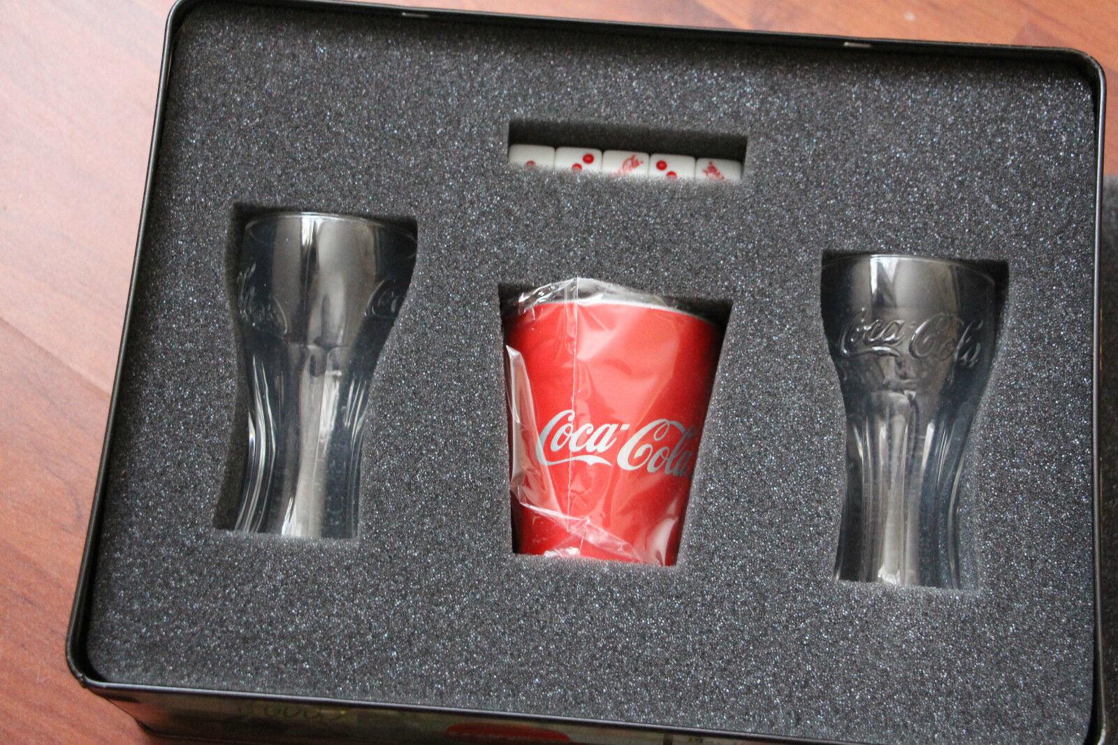 VERY RARE COCA-COLA DICE GAME IN COLLECTOR'S TIN BOX, BOX, BOX,  FREE P&P. f72bce