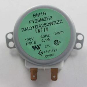 Image Is Loading New Sharp Microwave Turntable Motor Rmotda252wrzz Sm16 Fy26m2h3