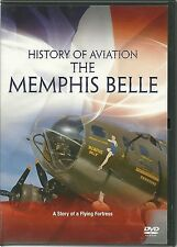 HISTORY OF AVIATION THE MEMPHIS BELLE DVD - A STORY OF A FLYING FORTRESS