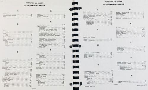 case 1830 uniloader used parts