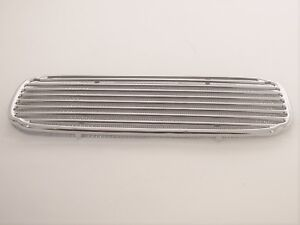 RADIO SPEAKER GRILLE CHROME WITH MESH FITS VOLKSWAGEN TYPE1 BUG UP TO 1957