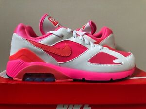 Details about Nike Air Max 180 x Comme Des Garcons CDG White Pink Solar Size 7 9 AO4641 600