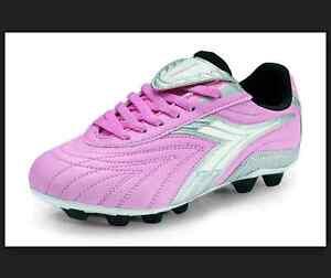 69d5c09d Kids Diadora Furia MD JR Soccer Cleats - Pink/Charcoal - NIB! | eBay