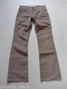 Levi-039-s-518-Bootcut-Cord-Jeans-Hose-W-29-L-32-braun-Superlow-Cordhose-RAR