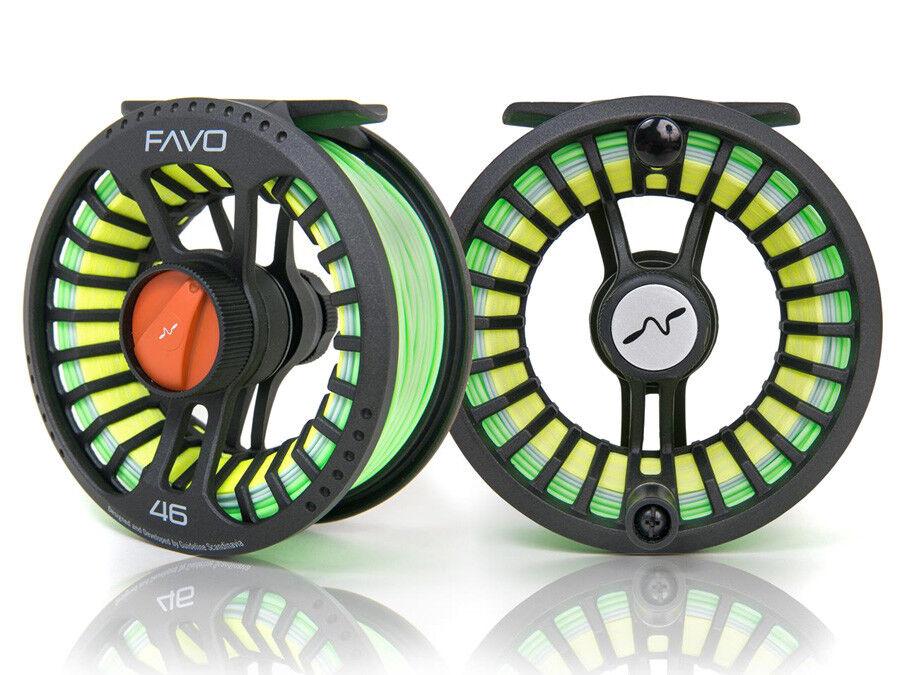 Guideline Favo AFTM  4 6  7 9  8 10 Mulinello per pesca a mosca
