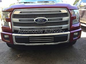 2015 Ford F150 Grill >> Details About Chrome Lower Grille Bumper Trim For Ford F150 2015 2016 2017 2018 2019