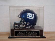Display Case For Your Matt Ryan Falcons Signed Football Mini Helmet