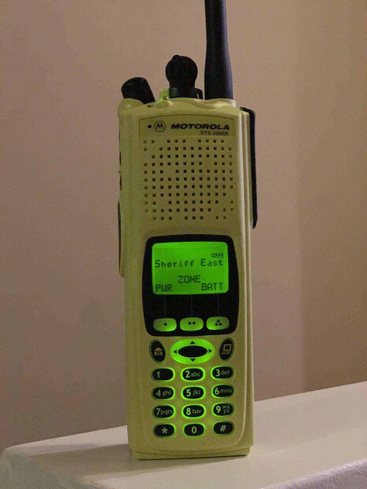Motorola XTS5000. Buy it now for 600.00