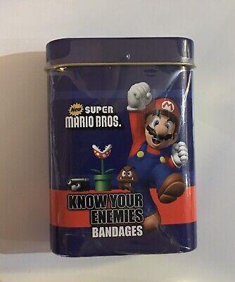 GOOMBA Know Your Enemies Super Mario Bros Candy Tin - New Orange Sours