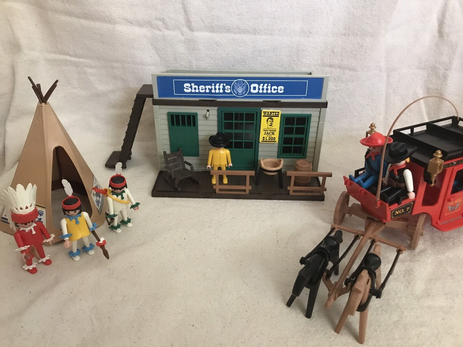 Playmobil Toy Sheriff Office 4431