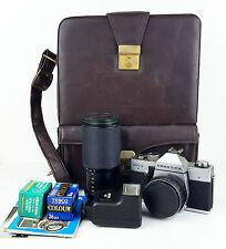 Praktica MTL3 Camera - Carl Zeiss Jena Tessar 2.8 50mm lens - Carry Case Manual