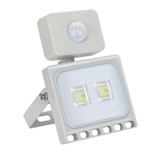 LED Flood Light 10W 1000W PIR Motion Sensor AU Plug Outdoor Floodlights 240V