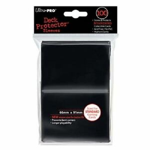 1-000-1000-Ultra-Pro-BLACK-Gaming-Sleeves-STANDARD-Deck-Protector-Series