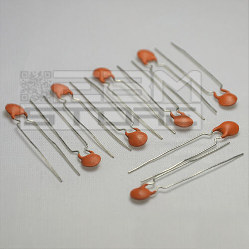 10 pz condensatori a disco  6,8 nF ART FW20