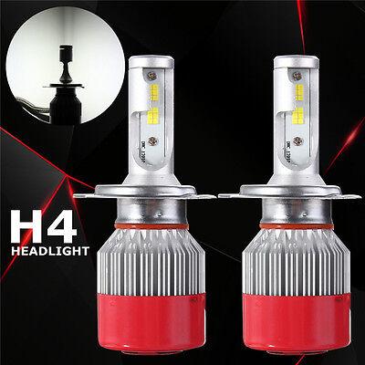 110W 9200LM H4 Bi-Xenon Hi/Lo LED LAMPADE FARI HEADLIGHT BULB KIT LUCI BIANCA