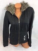 Victorias Secret Supermodel Faux Fur Hoodie Size M