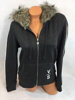 Victorias Secret Supermodel Faux Fur Hoodie Size M