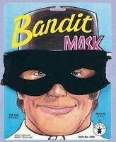 Rubie's Men's Black Bandit Zorro Lone Ranger Foam Fabric Eye Mask