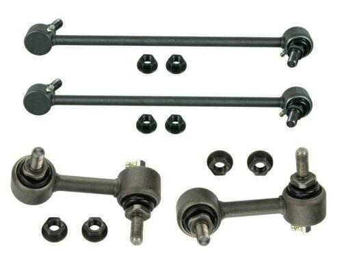 Set of 2 Front and 2 Rear Stabilizer Bar Links Kit MOOG for Honda CR-V 07-16