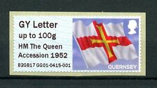 Guernsey 2017 MNH Post & Go Spring Stampex Queen Accession 1v Set GG01 Stamps