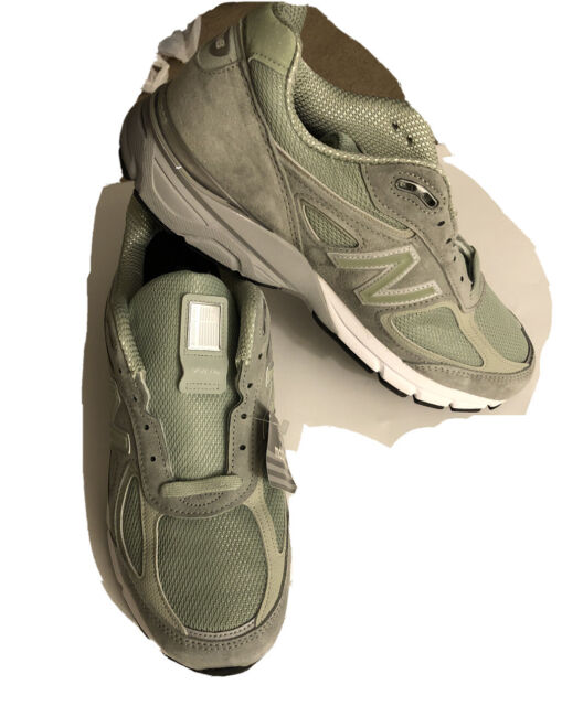 New Balance 990v4 Running Shoes Mint Green Mens M990SM4 Size 10  Made In USA🔥