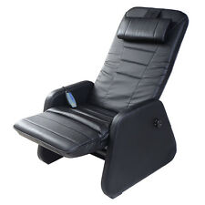 New Zero Gravity Electric Massage Chair Recliner PU Leather w/Controller Black