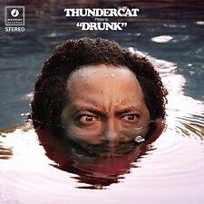 "Thundercat Drunk 3rd Album Mp3s Brainfeeder Records Colored Vinyl 4x 10"" LP"
