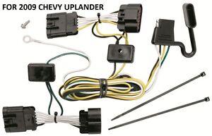2009 chevy uplander trailer hitch wiring kit harness plug play rh ebay com 2005 chevy uplander radio wiring harness 2005 chevy uplander radio wiring harness