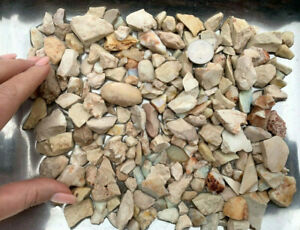 Parcel-natural-Australian-Andamooka-White-Rough-Potch-Opal-3499