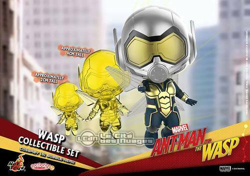 Hot Toys COSB490 Ant-Man & The Wasp The Wasp Cosbaby (S) Bobble-Head Set of 3