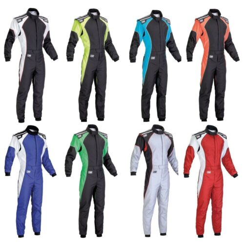 CIK-FIA Level 2 Approved OMP KS-3 Kart//Karting Race//Racing Suit