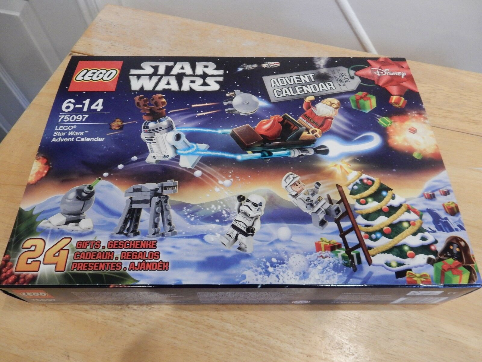 LEGO 75097 STAR WARS ADVENT CALENDAR NEW SEALED 2015 COMPLETE