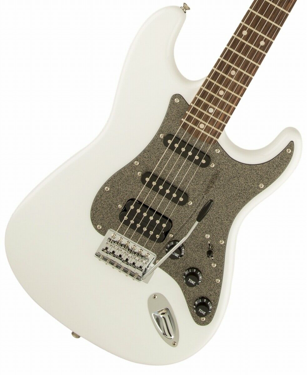 Squier by Fender Affinity Stratocaster HSS Laurel Fingerboard Weiß EMS F   S