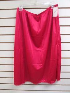 47b9898c8f Ventura Plus Size Nylon Half Slip 29