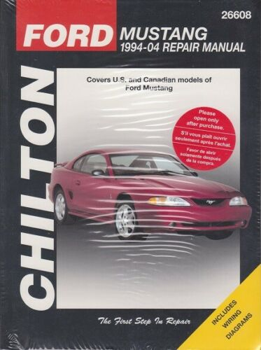 collectivedata.com 1994-2004 Ford Mustang Chiltons Repair Service ...