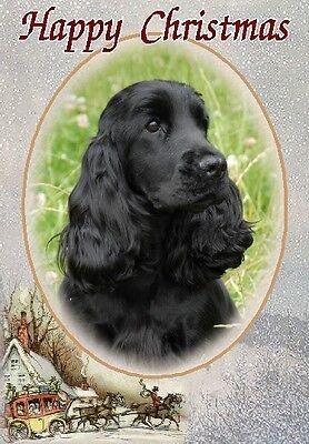 American Cocker Spaniel Dog A6 Textured Birthday Card BDAMCOCKER-3 by paws2print