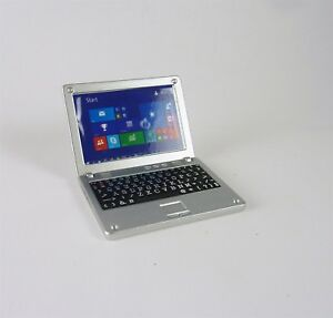 Accessories Miniature Dollhouse laptop Computer Apple Macbook Air Re-ment Size