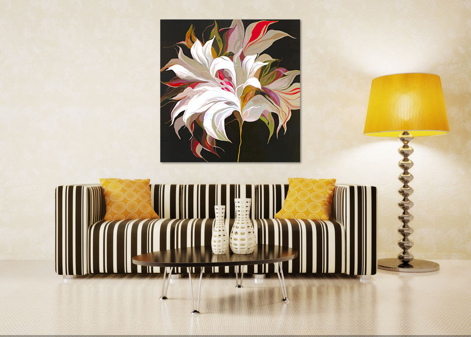 3D Gemälde Blaumen 622 Fototapeten Wandbild BildTapete AJSTORE DE Lemon