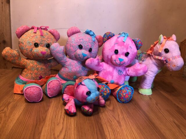 3 Doodle Bears, 1 Doodle Pony, and 1 Doodle Pet