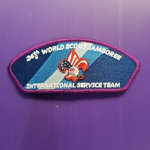 24th World Scout Jamboree 2019 Official IST USA Staff Patch