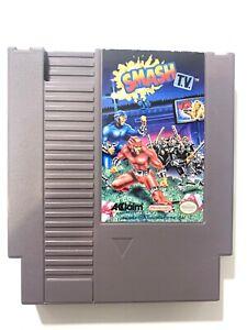 Smash-T-V-ORIGINAL-NINTENDO-NES-GAME-Tested-WORKING-Authentic