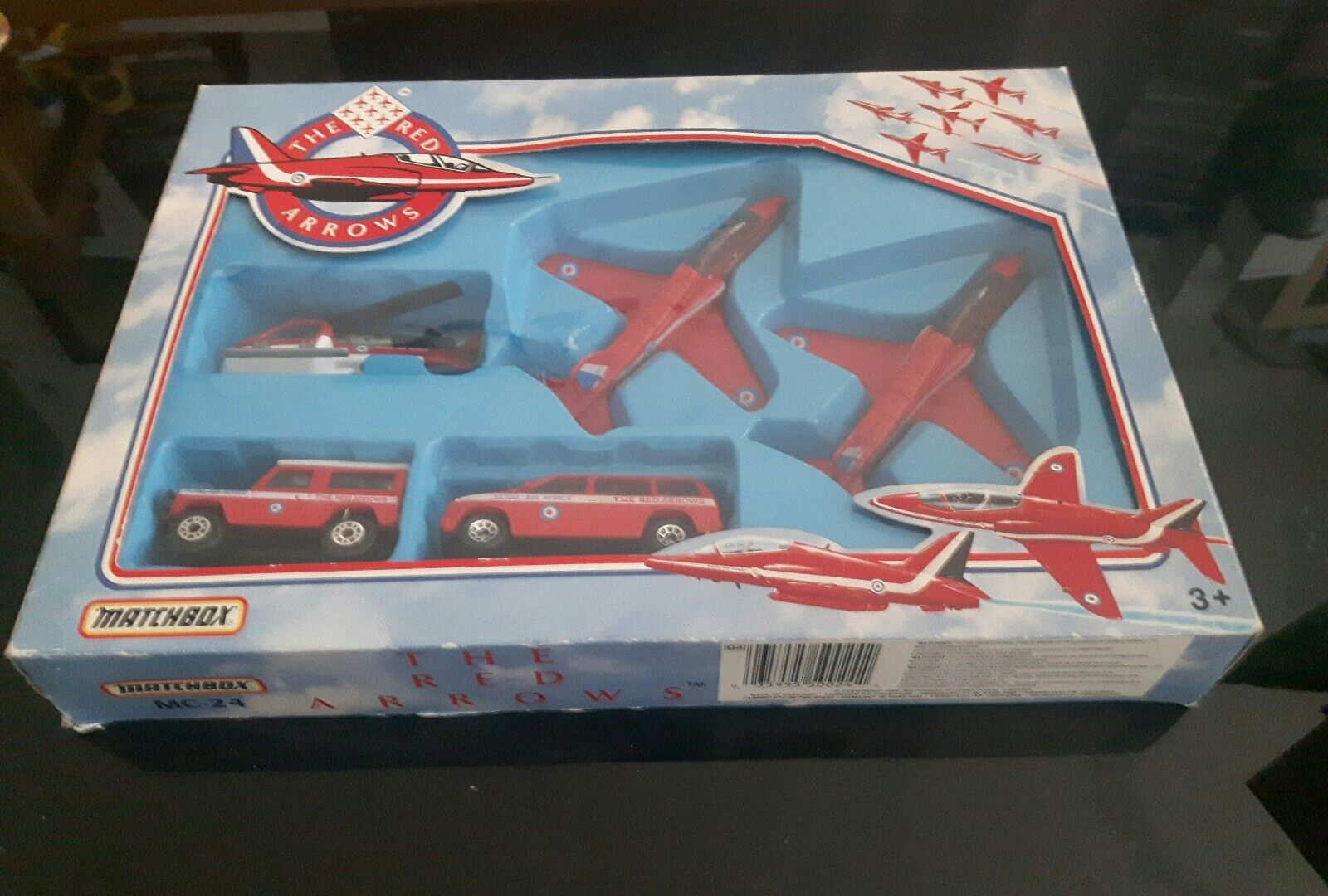 MATCHBOX MC24 THE RED ARROWS BOXED SET