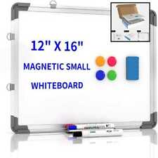 Small Dry Erase White Board 12 X 16 Portable Maic Hanging Whiteboard For Wall